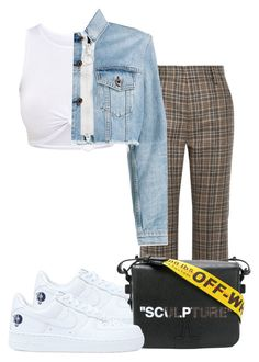 """""""Untitled #447"""" by jess-lewin ❤ liked on Polyvore featuring Marc Jacobs, NIKE and Off-White"""