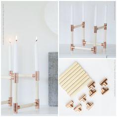 Diy: Copper Pipe Ideas