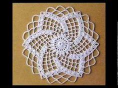 69 Ideas for crochet christmas doily link Free Crochet Doily Patterns, Crochet Symbols, Crochet Motifs, Crochet Circles, Crochet Mandala, Crochet Squares, Lace Patterns, Crochet Chart, Thread Crochet