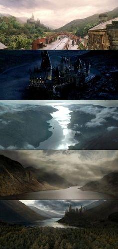 Hogwarts by junepinkerwinkle