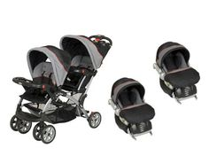 BABY TREND Sit N Stand Double Travel System Millennium -- Visit the image link more details.-It is an affiliate link to Amazon.
