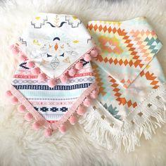 Image of Bandana Bibs 4 Designs