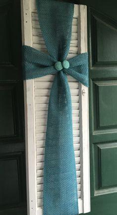 Repurposed shutter. Easter door hanger.