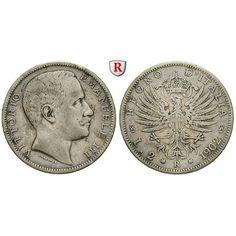 Deutsches Kaiserreich, 20 Pfennig 1888, E, f.st, J. 6