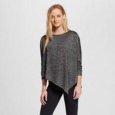 Women's Long-Sleeve Asymmetrical Top - Mossimo™