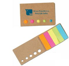 Flag Tag Rectangle Eco Aware Flag Book promoteyou.ca