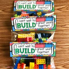Back To School Student Gift -I Can't Wait To Build A Great Year With You