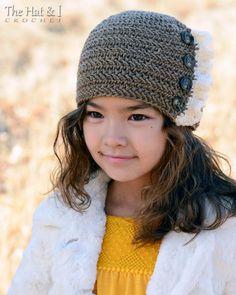 CROCHET PATTERN Ruffle Romance crochet hat pattern от TheHatandI