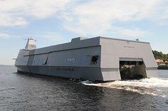 The research and development vessel R/V Sea Fighter (FSF-1)