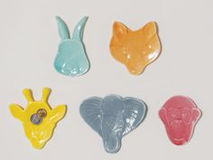 Animal Head Trinket Dishes design by imm Living