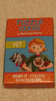 puzzle cards a matching game educational learning cards game