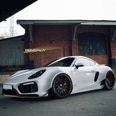Bengala Cayman GTS Follow @Porsche_Purists Follow @Porsche_Purists # Freshly Uploaded To www.MadWhips.com Photo by @bengalaautodesign