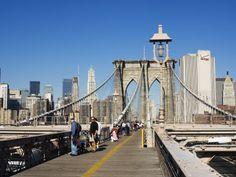 I've always wanted to make the walking trip across the Brooklyn Bridge.