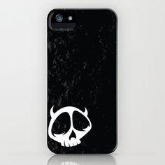 Devil Skull Character iPhone Case by HeyTrutt - $35.00