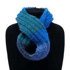 Paua (child) - Handmade by Primrose Cowls, Infinity, Scarves, Warm, Crochet, Handmade, Fashion, Scarfs, Moda
