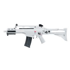 H&KG36 C IDZ Softair Gewehr Kaliber 6 mm - White Edition   #shootclub #airsoft #softair