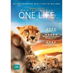 One Life - a very special footage from the BBC, collected over years whilst making the ground breaking nature documentary series, this is a film you'll watch again and again. Only available in the UK.