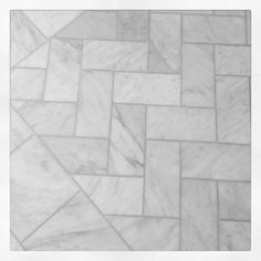 Love this tile pattern for the master bathroom floor.