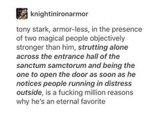 ETERNAL FAVOURITE INDEED. ❤ #TonyStark