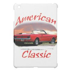 Big Save On American Classic IPad Mini Cases Red MustangVintage Shower CurtainsIpad