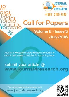 www.journal4research.org