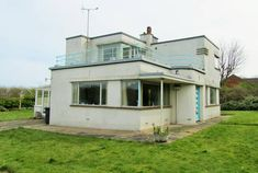 In need of renovation: The Lantern W. F. Tuthill-designed art deco property in West Runton, Norfolk on http://www.wowhaus.co.uk