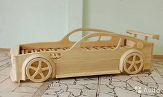 Продам Кровать машина деревянная ручная работа Kids Room Design, Bed Design, Kids Car Bed, Race Car Bed, Diy Toddler Bed, Childrens Beds, Gifts For Office, Wood Toys, Bed Furniture