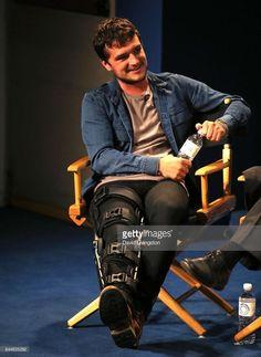 Josh Hutcherson at Paley Fest in Los Angeles Josh Hutcherson, Liam Hemsworth, Jennifer Lawrence, Hunger Games, Celebrity Crush, I Love Him, Beautiful People, Crushes, Handsome