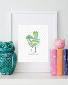 Free lil bird printable - Love Stitched