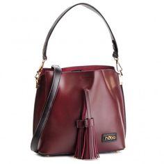 Kabelka NOBO - NBAG-F2930-C005 Bordová Furla, Clarks, Leather Backpack, Bucket Bag, Tommy Hilfiger, Calvin Klein, Backpacks, Outfit, Bags