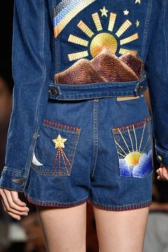 Anna Sui Spring 2015 - I think the outdoorsy trend is causing designers to look back to the free spirited era of the 70s.