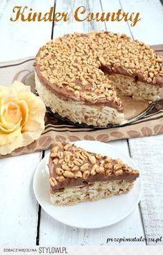 Składniki: 350 ml śmietany 250 g serka mascarpone Sweet Recipes, Cake Recipes, Snack Recipes, Dessert Recipes, Cooking Recipes, Good Food, Yummy Food, Sweet Cakes, Food Cakes