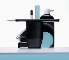 the machine series: 3D printed open source stationery collection by barbara busatta and dario buzzini of ICOSAEDRO