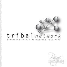 Tribal Network logo Page Design, Graphic Design, Logos, Logo, Visual Communication