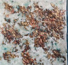 local philly artist - textural metallic