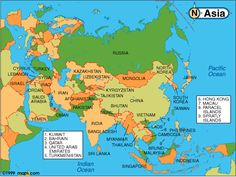 Asia Occidentale Cartina Politica.10 Best Maps Of Central Asia Images Central Asia