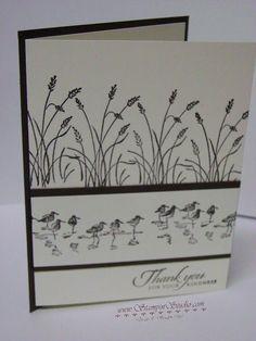Stampin' Studio, Stampin' Up! Wetlands, Masculine Cards by lela