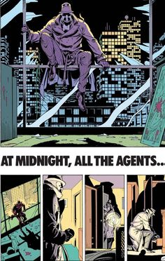 Alan Moore & Dave Gibbons. Watchmen.