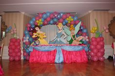 Table Decorations | Princess Cake Table Decoration
