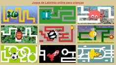 E continuando com dicas de site na internet para crianças e bebês, hoje trago o Jogos para Crianças         Conheça:   JogosGratisParaCr...