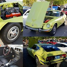 Clean 240z at Cars and Coffee Aliso Viejo this morning #Datsun #240z #zcar #zseries #fairladyz #datsunz