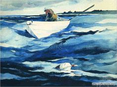 A full catalog of Andrew Wyeth prints and reproductions available at Chadds Ford Gallery Andrew Wyeth Prints, Andrew Wyeth Paintings, Andrew Wyeth Art, Jamie Wyeth, Hunter Museum, Nc Wyeth, Boat Painting, Nautical Art, American Artists