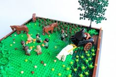 Ring-a-ring o' Roses : A LEGO® creation by James Pegrum : MOCpages.com