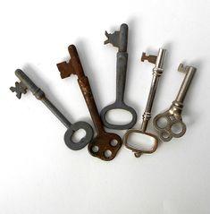 Skeleton Keys Rustic Decor Display Use Old Keys, Unique Vintage, Rustic Decor, I Shop, Skeleton Keys, Display, Etsy, Floor Space, Antique Keys