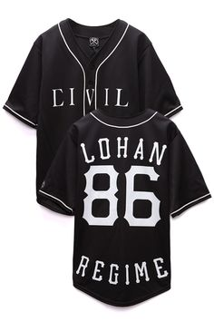 Civil x Lindsay Lohan 86 Baseball Jersey