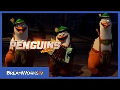 PENGUINS OF MADAGASCAR (2014) ~ Official Trailer #3. Includes voices of Benedict Cumberbatch (as Classified the wolf) and John Malkovich. (2:48) [Video]