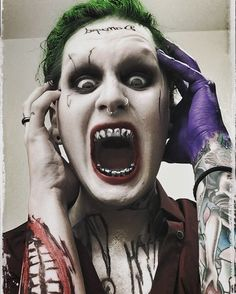 """Devin """"Ghost"""" Sola- Motionless In White as the Joker """"I'm not gonna kill you..."""""""