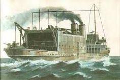 un submarino de guerra