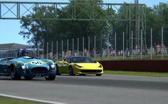 Assetto Corsa - Shelby Cobra SC 427 x Ferrai 458 Italia - Silverstone