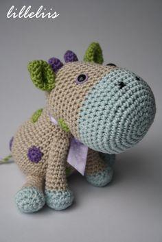 PATTERN  Spotty the Cow  crochet pattern amigurumi by lilleliis